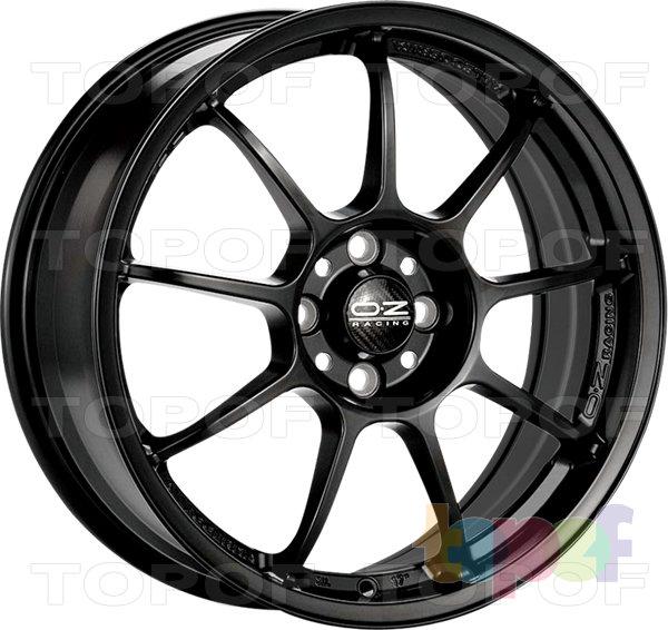 Колесные диски O.Z Racing Alleggerita HLT. Цвет Matt Graphite