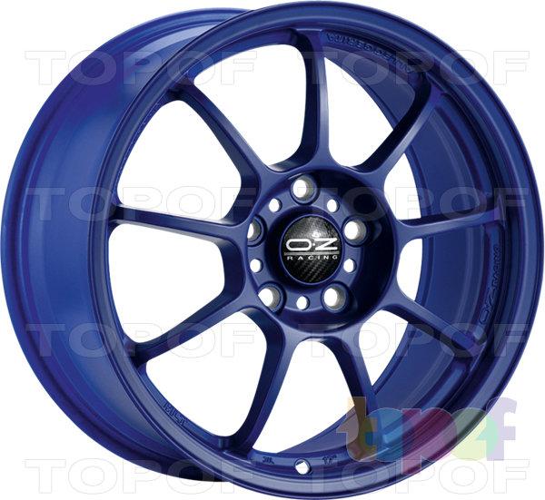 Колесные диски O.Z Racing Alleggerita HLT. Цвет Matt Red