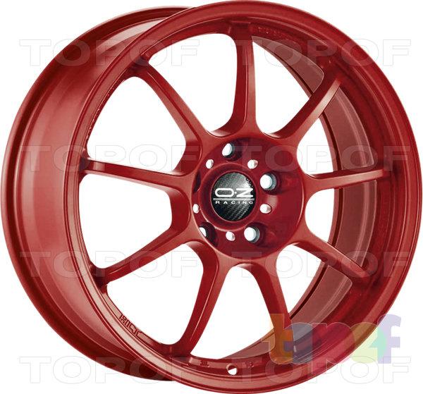 Колесные диски O.Z Racing Alleggerita HLT. Цвет Titanium Tech