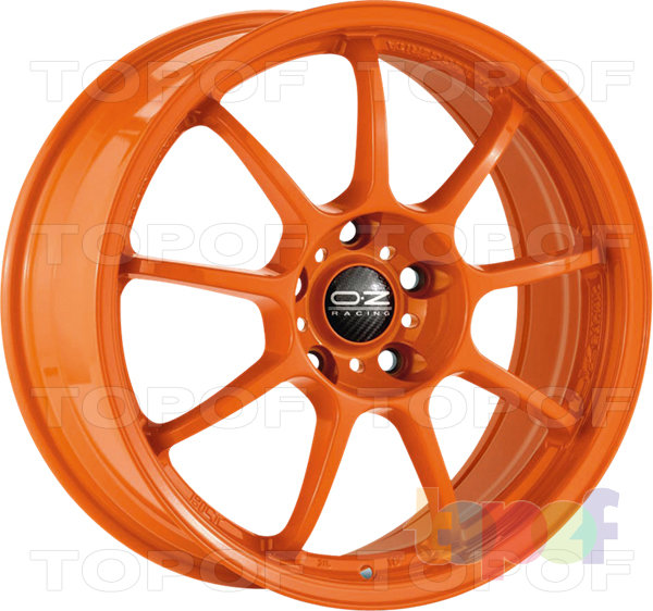Колесные диски O.Z Racing Alleggerita HLT. Цвет White