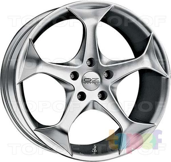 Колесные диски O.Z Racing Antares. Изображение модели #4