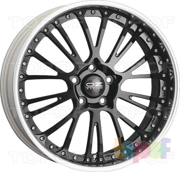 Колесные диски O.Z Racing Botticelli III. Цвет Matt Black