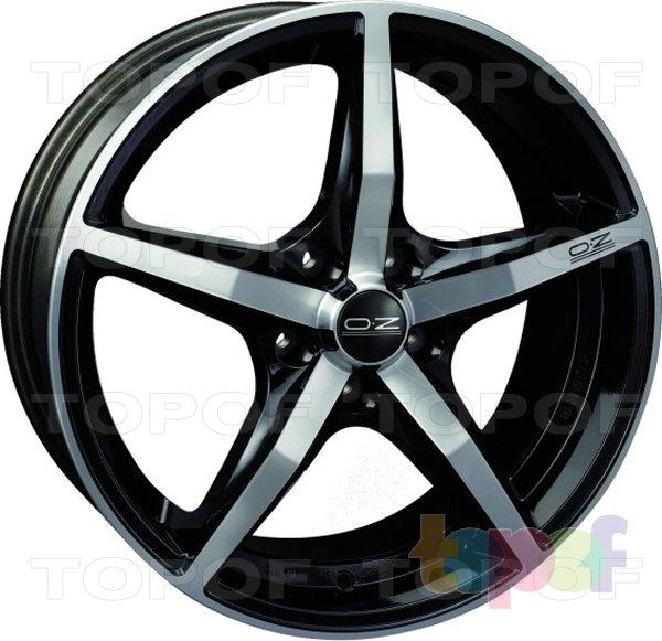 Колесные диски O.Z Racing Canova. Изображение модели #4