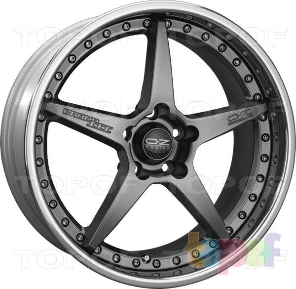 Колесные диски O.Z Racing Chrono III. Цвет Matt Black