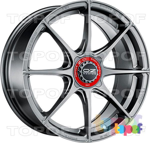 Колесные диски O.Z Racing Formula HLT. Formula HLT 4H - цвет grigio corsa bright