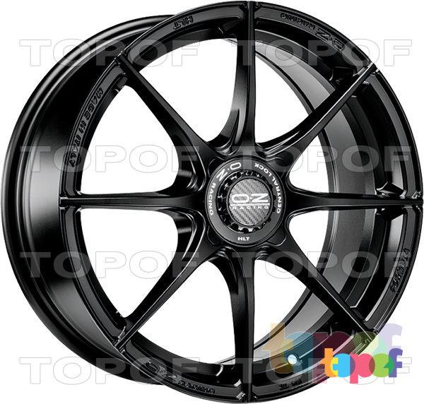Колесные диски O.Z Racing Formula HLT. Formula HLT 4H - цвет matt black