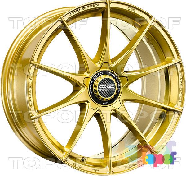 Колесные диски O.Z Racing Formula HLT. Formula HLT 5H - цвет race gold