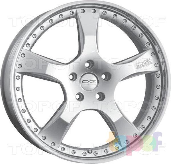 Колесные диски O.Z Racing Giotto III. Изображение модели #2