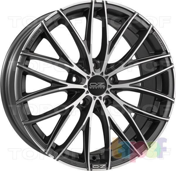 Колесные диски O.Z Racing Italia 150. 5 посадочных отверстий. Цвет Matt Race Silver + Diamond Cut