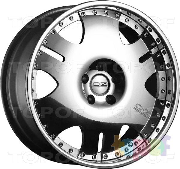 Колесные диски O.Z Racing Leonardo III. Изображение модели #1