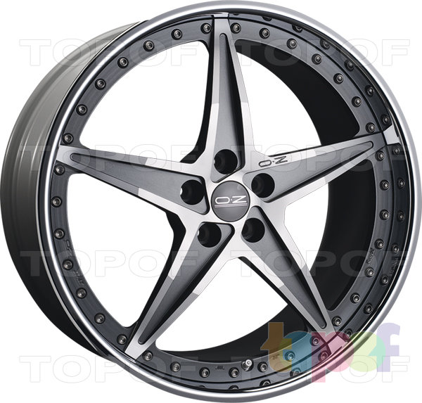 Колесные диски O.Z Racing Mito Rosso