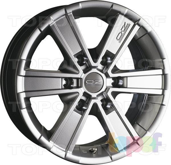 Колесные диски O.Z Racing Offroad. 6 лучей