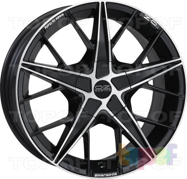 Колесные диски O.Z Racing Quaranta. Изображение модели #2