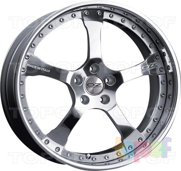 Колесные диски O.Z Racing Raffaello. Изображение модели #1