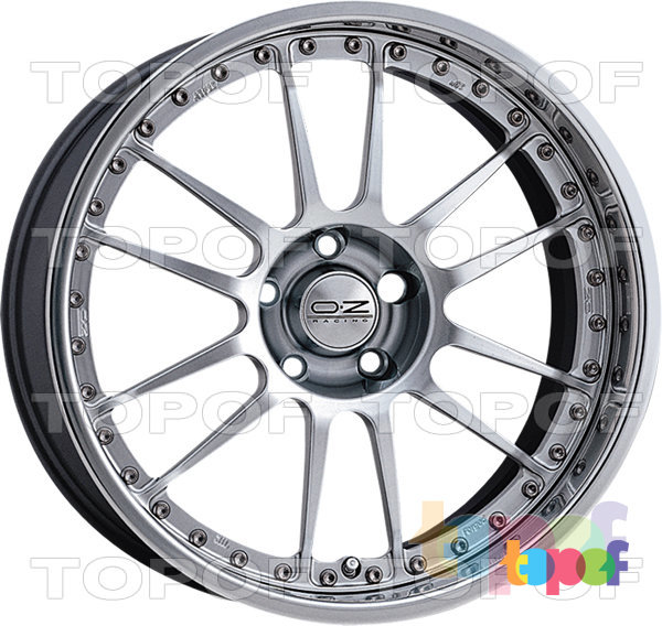 Колесные диски O.Z Racing Superleggera III. Цвет - Race Silver