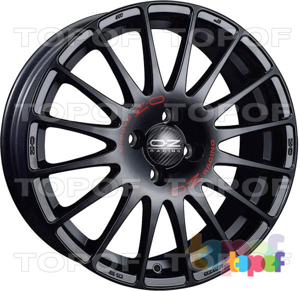 Колесные диски O.Z Racing Superturismo. Superturismo Black
