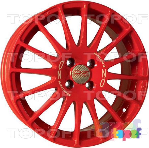 Колесные диски O.Z Racing Superturismo. Superturismo Rosso