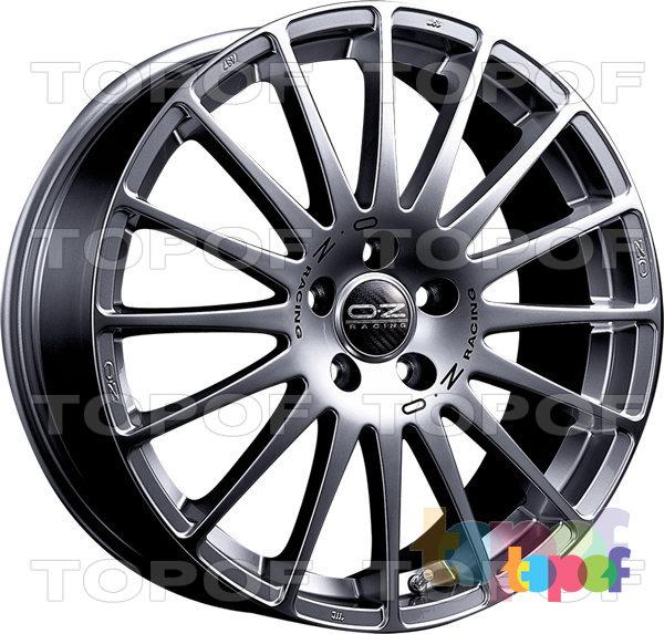 Колесные диски O.Z Racing Superturismo GT. Цвет Race Silver Black Lettering