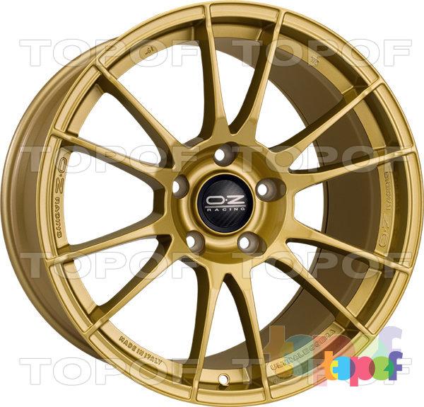 Колесные диски O.Z Racing Ultraleggera. Цвет Gold