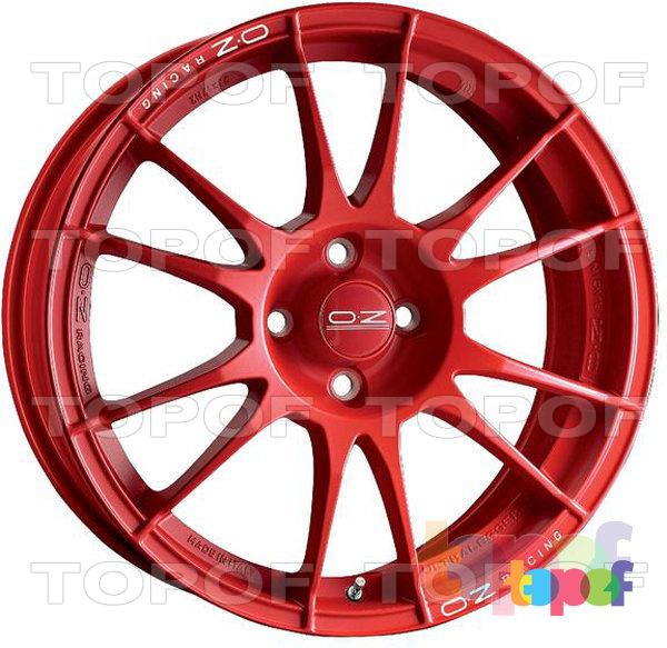 Колесные диски O.Z Racing Ultraleggera. Цвет Rosso. Ultraleggera Rosso