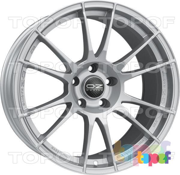 Колесные диски O.Z Racing Ultraleggera HLT. Цвет Matt Race Silver