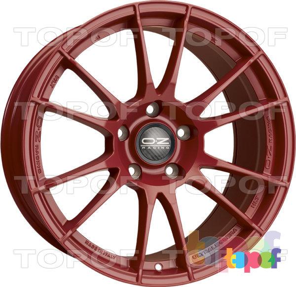 Колесные диски O.Z Racing Ultraleggera HLT. Цвет Matt Red
