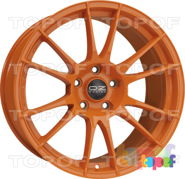 Колесные диски O.Z Racing Ultraleggera HLT. Цвет Orange
