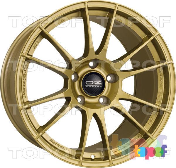 Колесные диски O.Z Racing Ultraleggera HLT. Цвет Race Gold