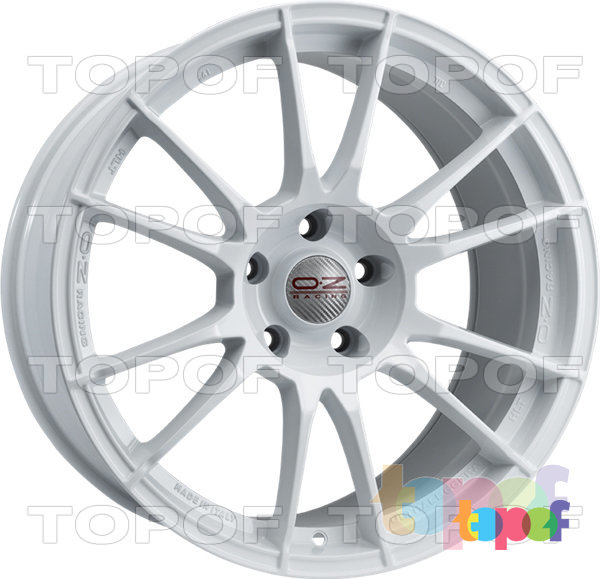 Колесные диски O.Z Racing Ultraleggera HLT. Цвет Race White