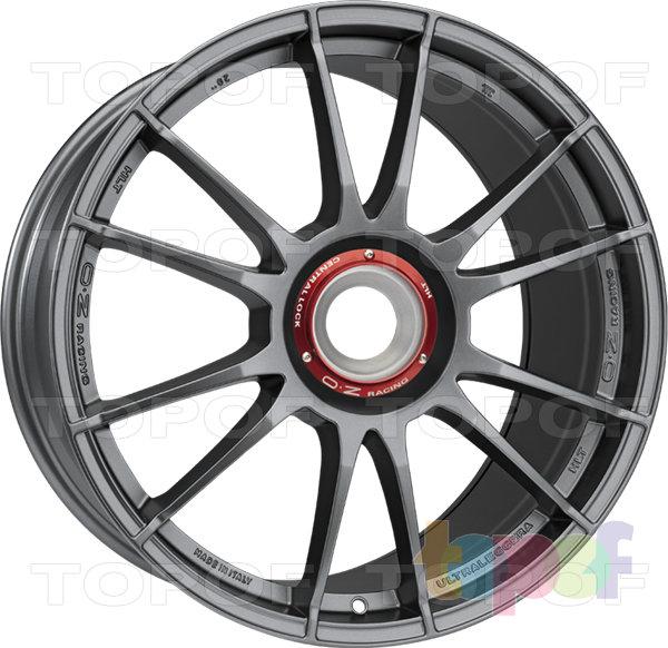 Колесные диски O.Z Racing Ultraleggera HLT CL. Цвет Matt Graphite