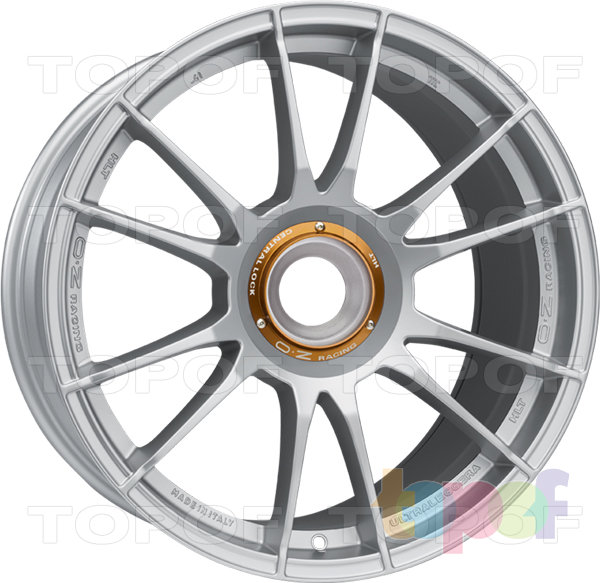 Колесные диски O.Z Racing Ultraleggera HLT CL. Цвет Matt Race Silver