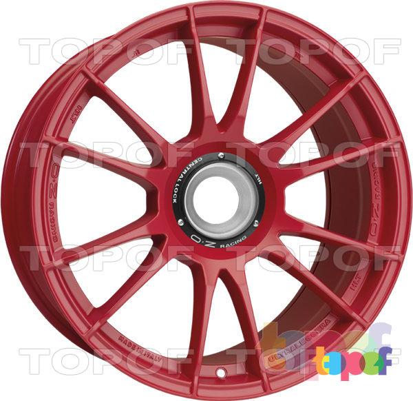 Колесные диски O.Z Racing Ultraleggera HLT CL. Цвет Matt Red