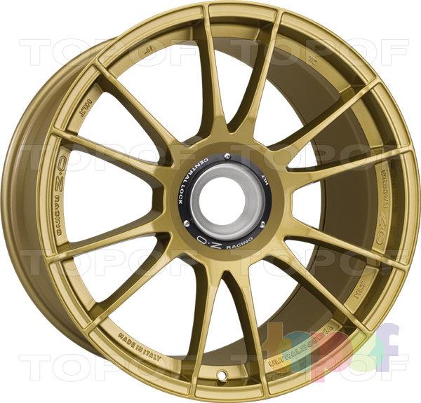 Колесные диски O.Z Racing Ultraleggera HLT CL. Цвет Race Gold