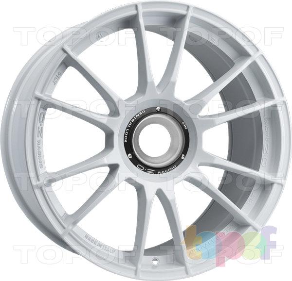 Колесные диски O.Z Racing Ultraleggera HLT CL. Цвет Race White