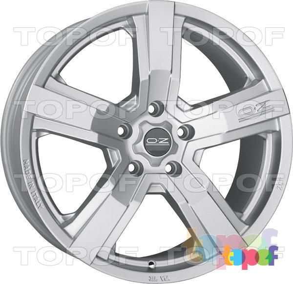 Колесные диски O.Z Racing Versilia. Цвет Matt Race Silver