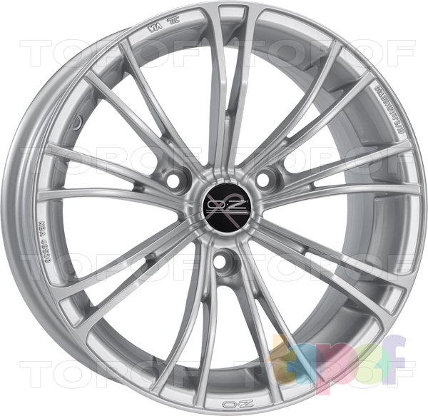 Колесные диски O.Z Racing X2 (X Line). Цвет Casual Full Silver