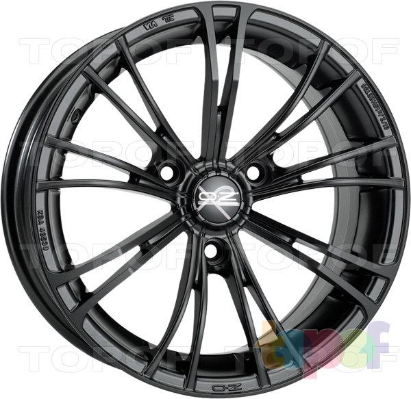 Колесные диски O.Z Racing X2 (X Line). Цвет Sport Matt Black