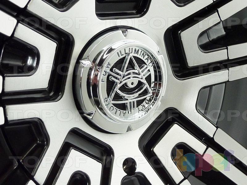 Колесные диски PDW Illuminati (234). Изображение модели #4
