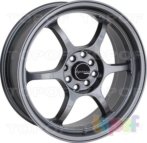 Колесные диски PDW Retro. Цвет Dark Grey