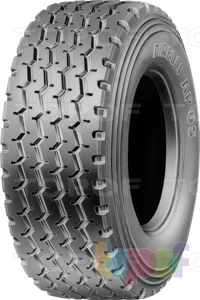Шины Pirelli AP05. Зигзагообразные канавки