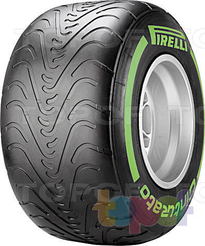 Шины Pirelli Cinturato Formula 1. Общий вид модели
