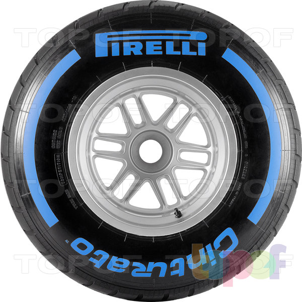 Шины Pirelli Cinturato Formula 1. Боковая стенка