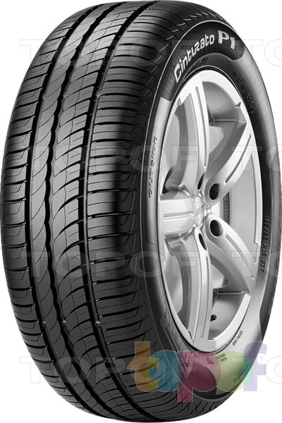 Шины Pirelli Cinturato P1. Общий вид модели
