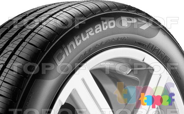 Шины Pirelli Cinturato P7 All Season. Боковая стенка