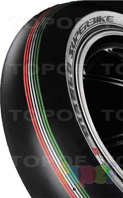 Шины Pirelli Diablo Superbike. Боковая стенка