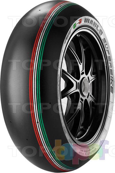 Шины Pirelli Diablo Superbike SC1. Изображение модели #1