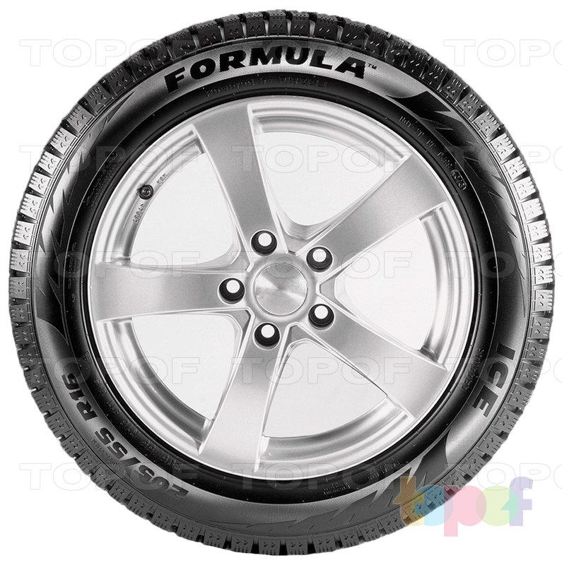 Шины Pirelli Formula Ice. Вид сбоку