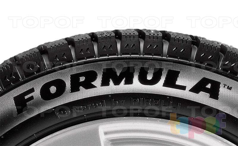 Шины Pirelli Formula Ice. Боковая стенка