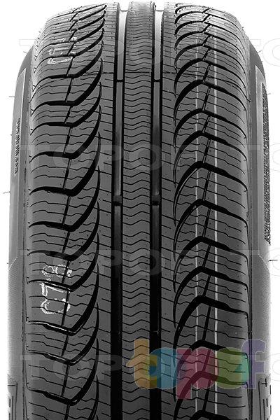 Шины Pirelli P4 Four Seasons. Центральное ребро протектора
