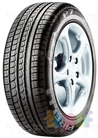 Шины Pirelli P7. Общий вид модели